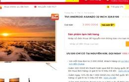 Các nhà bán lẻ tạm ngừng kinh doanh sản phẩm Asanzo