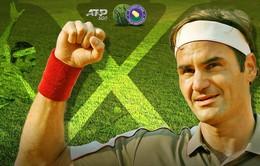 Roger Federer giành chức vô địch lần thứ 10 tại Halle mở rộng