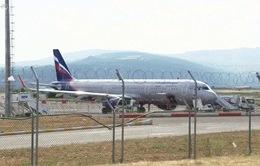 Nga cấm bay tới Gruzia
