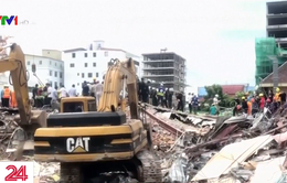 Ít nhất 21 người thiệt mạng trong vụ sập tòa nhà 7 tầng ở Campuchia