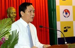 Không có chuyện ông Cấn Văn Nghĩa từ chức vì việc gia hạn hợp đồng với HLV Park Hang-seo