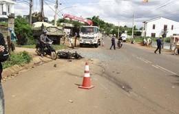 Đắk Lắk: Xe tải gây tai nạn liên hoàn khiến 2 người thương vong, 600 hộ dân mất điện