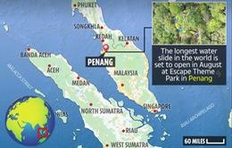 Đường trượt nước dài nhất thế giới tại Malaysia sắp mở cửa đón khách