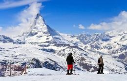 Những dãy núi phủ tuyết tại Thụy Sĩ có thể biến mất