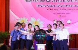 """Hưởng ứng cuộc thi """"Tuổi trẻ học tập và làm theo tư tưởng, đạo đức, phong cách Hồ Chí Minh"""""""
