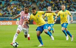 Copa America 2019: Vượt qua Paraguay trong loạt đá luân lưu, Brazil vào bán kết