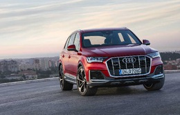 Audi Q7 2020 có diện mạo mới, đồng bộ hóa thiết kế với các dòng sản phẩm của Audi
