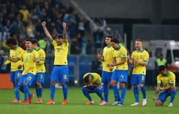 Copa America 2019: Thắng chật vật Paraguay trong loạt đá luân lưu, Brazil vào bán kết