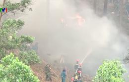 Gần 3.000 cán bộ, chiến sĩ Quân khu IV chữa cháy rừng