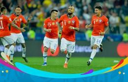 Tứ kết Copa America 2019, Colombia 0-0 Chile: Kịch tính VAR và loạt luân lưu định mệnh