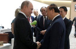 Thủ tướng hội kiến Tổng thống Nga