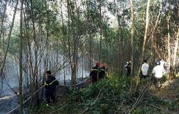 Cháy rừng ở TT-Huế: Túc trực 24/24 đối phó tình huống xấu