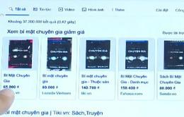 """Sách không bản quyền """"tấn công"""" sách thật trên sàn thương mại điện tử"""