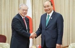 Thủ tướng tiếp Hội hữu nghị Nhật - Việt vùng Kansai