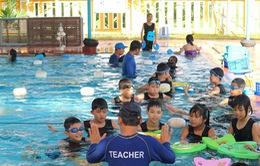 Phát động phòng ngừa đuối nước cho trẻ em trong mùa mưa lũ