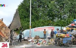 Dân kêu trời vì ô nhiễm ở điểm trung chuyển rác