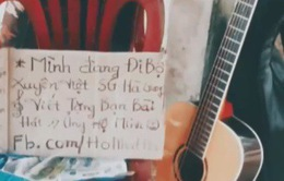 Chàng trai đi du lịch xuyên Việt với 100.000 đồng