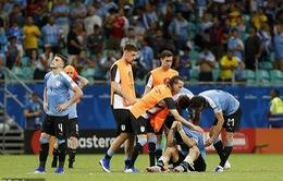 VIDEO: Xem lại 2 lần VAR từ chối bàn thắng của ĐT Uruguay và cái kết đắng khiến Suarez bật khóc
