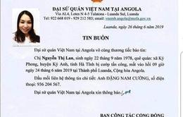 Khuyến cáo công dân Việt Nam cảnh giác, thận trọng khi ở Angola