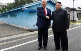 Ông Donald Trump là Tổng thống Mỹ đương nhiệm đầu tiên đến Triều Tiên