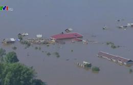 Lũ lụt nghiêm trọng tại Nga, ít nhất 5 người thiệt mạng