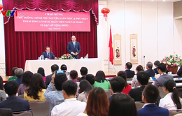 Thủ tướng Nguyễn Xuân Phúc gặp gỡ cộng đồng người Việt Nam tại Nhật Bản