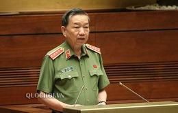 Trực tiếp: Bộ trưởng Bộ Công an Tô Lâm trả lời chất vấn Quốc hội