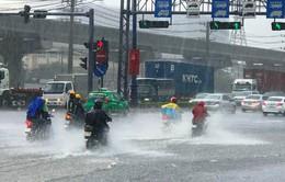 Nam Bộ mưa nhiều đến cuối tuần, đề phòng ngập úng
