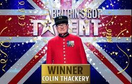 Cụ ông 89 tuổi giành ngôi vị quán quân cuộc thi Tìm kiếm tài năng Anh Quốc 2019