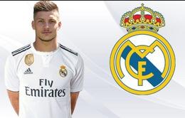 Luka Jovic chính thức gia nhập Real Madrid với giá 60 triệu Euro