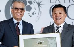 Trung Quốc chính thức giành quyền đăng cai AFC Asian Cup 2023