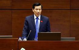 Bộ trưởng Bộ VH-TT&DL trả lời chất vấn