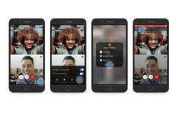 Skype ra mắt tính năng gọi video chia đôi màn hình trên smartphone
