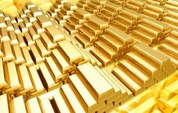 Giá vàng thế giới tăng lên mức đỉnh của hơn 3 tháng