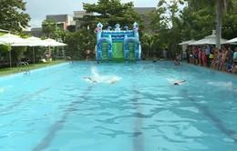 Ninh Thuận: Phát động tập luyện môn bơi phòng chống đuối nước