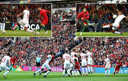 ĐT Bồ Đào Nha 3-1 ĐT Thụy Sĩ: Người hùng Ronaldo