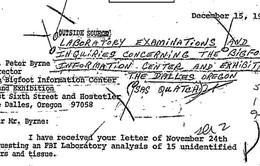 FBI từng tìm kiếm khả năng Bigfoot tồn tại vào năm 1970