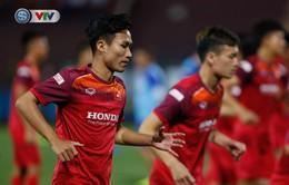 ẢNH: U23 Việt Nam tập làm quen sân vận động Việt Trì, sẵn sàng so tài U23 Myanmar