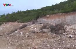 Ồ ạt khai thác đất trái phép trên núi Mò O tại tỉnh Bình Định