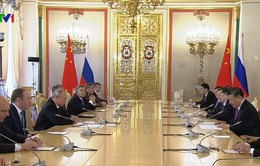 Thúc đẩy quan hệ chiến lược Nga - Trung Quốc