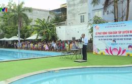 Ninh Thuận: Phát động tập bơi phòng chống đuối nước