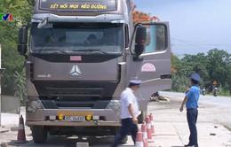 Tăng cường xử lý xe quá tải vùng giáp ranh
