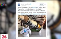 NASA đưa nhạc BTS lên Mặt Trăng vào năm 2024
