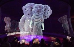 Rạp xiếc Đức sử dụng hình chiếu 3D để chống ngược đãi động vật