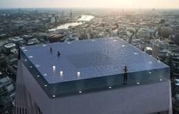 Choáng: Bể bơi vô cực 360 độ đầu tiên trên thế giới tại London