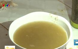 Có nhà máy nước sạch, người dân Thạch Thất vẫn phải dùng nước bẩn