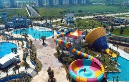 Sắp mở cửa công viên nước lớn nhất khu vực Tây Nam Hà Nội