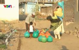 Ẩu đả vì tranh giành nước ở Ấn Độ