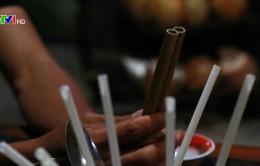 """Chiến dịch """"Nói không với ống hút nhựa"""" trên đảo Cù Lao Chàm"""