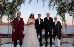 Tổng thống Thổ Nhĩ Kỳ làm phù rể cho danh thủ Mesut Ozil